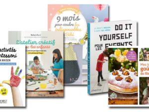 5 livres diy pour la famille