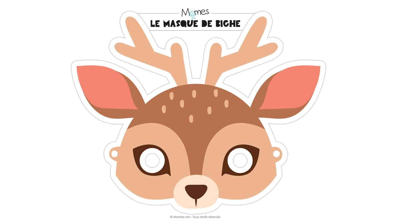 masque de biche
