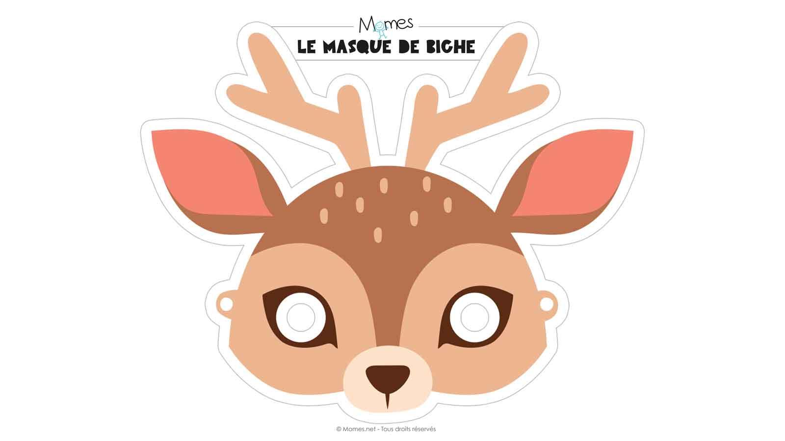 Diy 19 Masques Gratuits A Imprimer Et Decouper Soi Meme