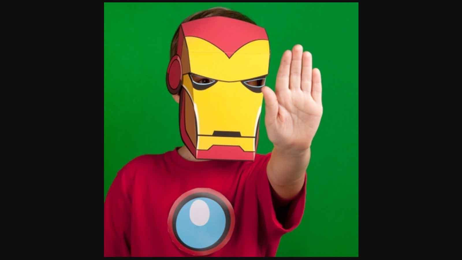 masque d'Iron Man