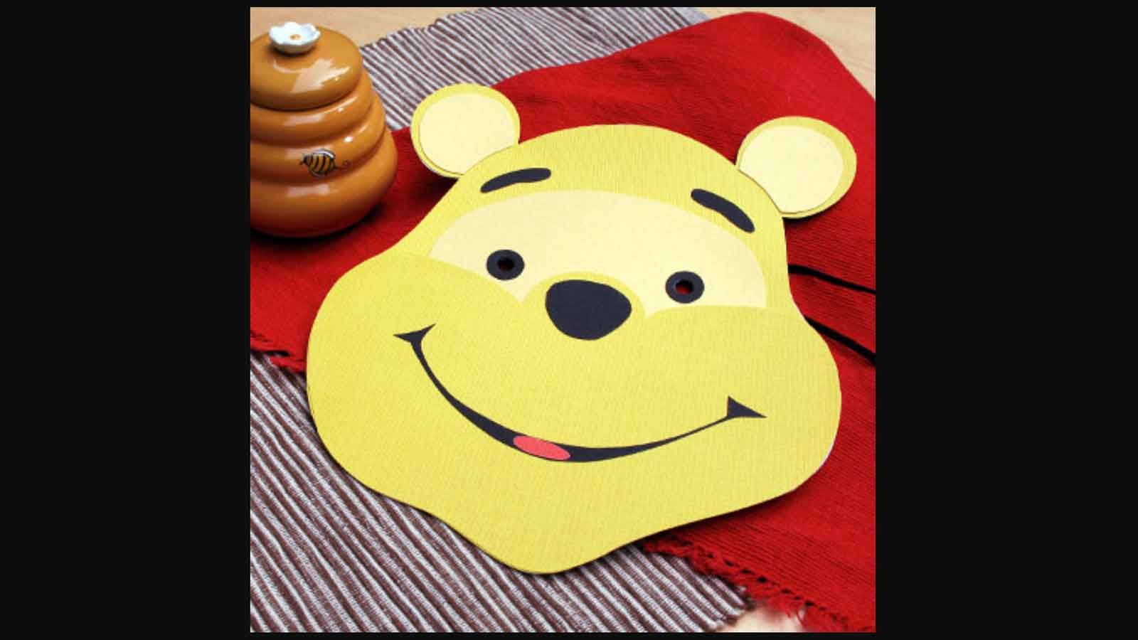 masque de winnie l'ourson