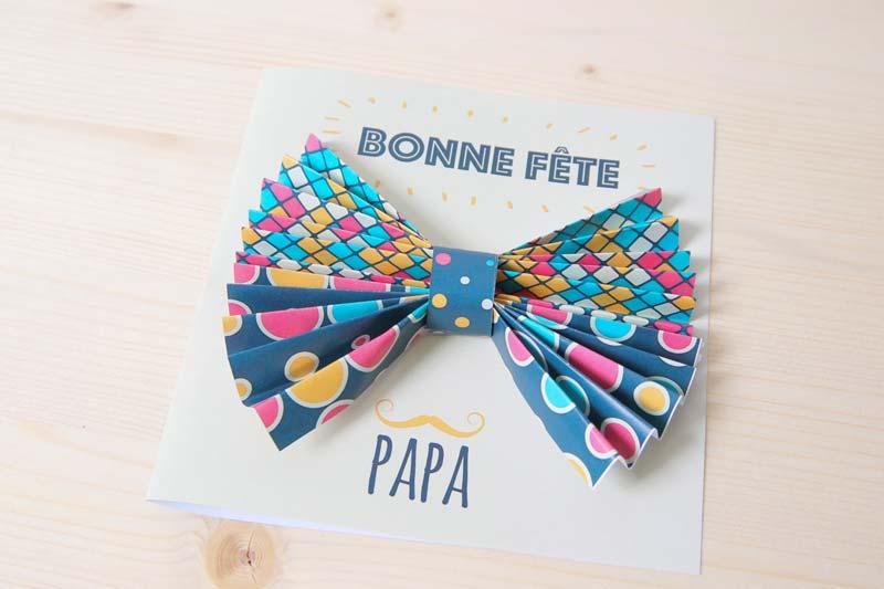 carte surprise fête des pères