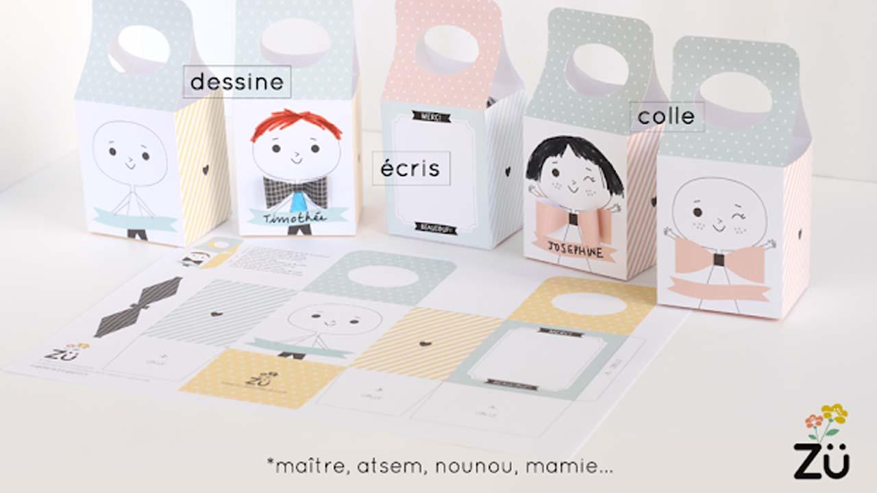 10 Idees Cadeau De Derniere Minute A Imprimer Pour La Maitresse