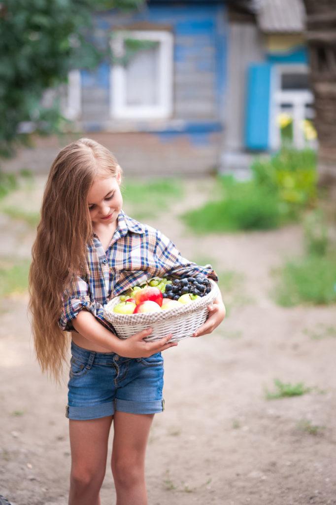 semaine du gout jeux et activites enfant fruits et legumes