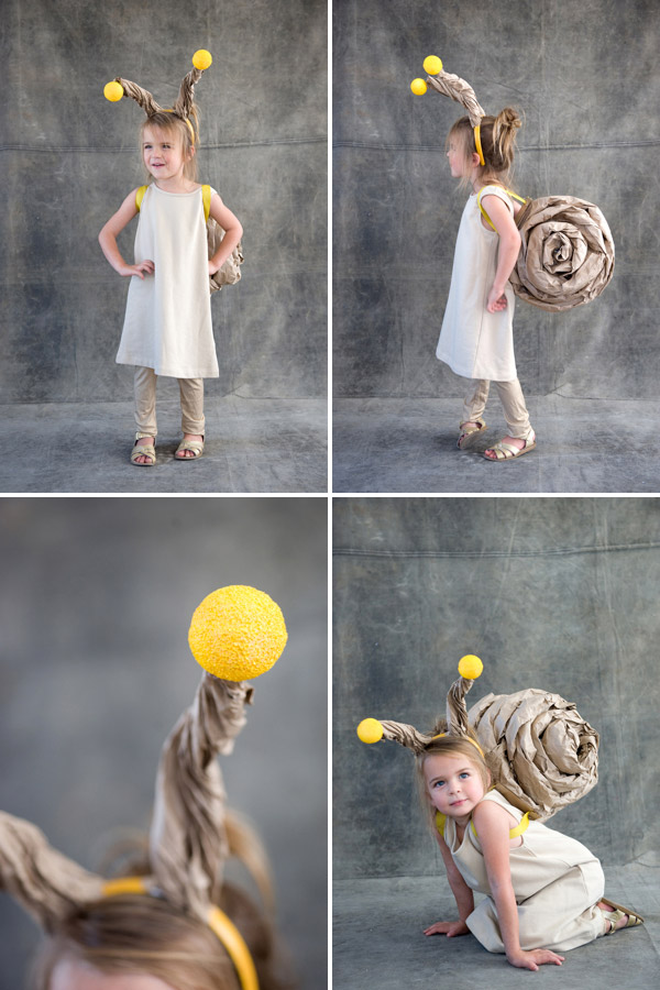 costume enfant escargot facile